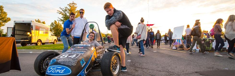 Stock Car at Campus Life Night 2015